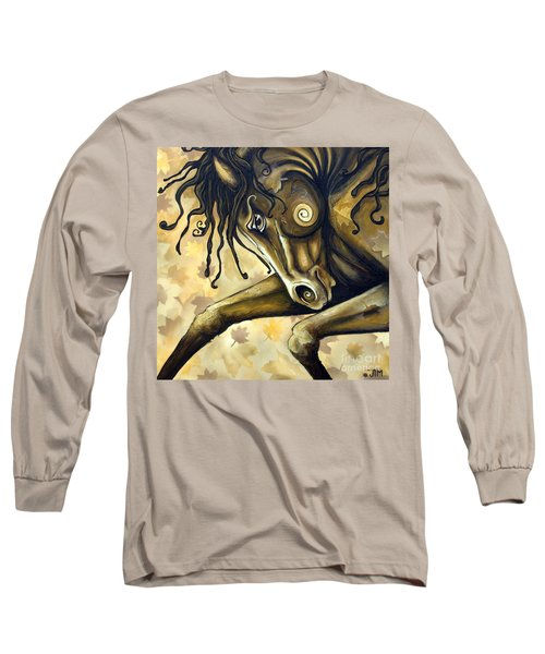Gold Leaf Long Sleeve T-Shirt