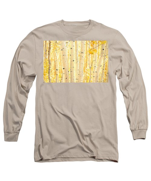 Golden Aspens Utah Long Sleeve T-Shirt