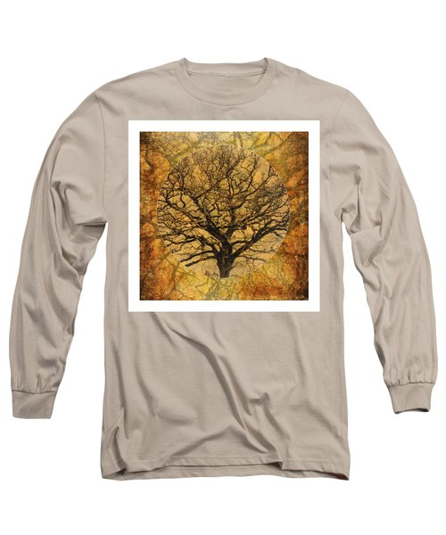 Golden Autumnal Trees Long Sleeve T-Shirt