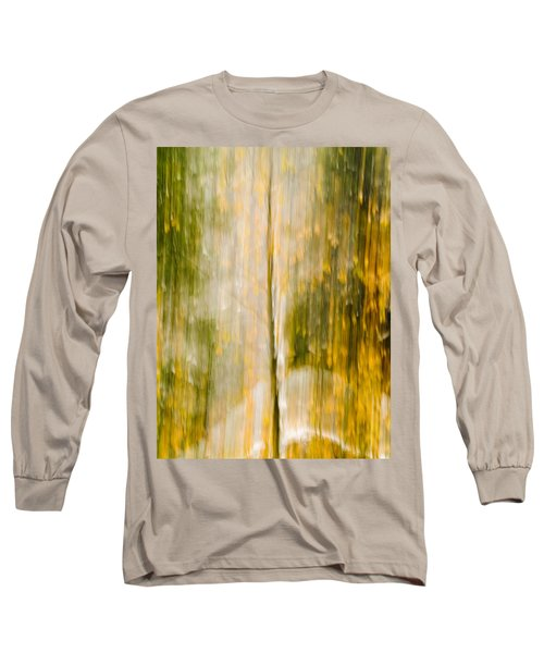 Golden Falls  Long Sleeve T-Shirt by Bill Gallagher
