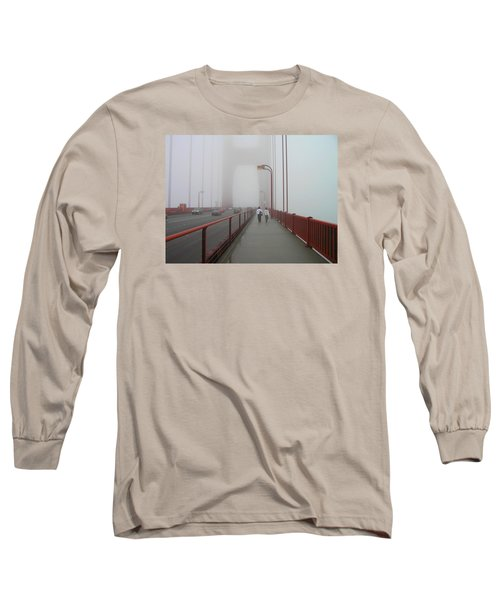 G. G. Bridge Walking Long Sleeve T-Shirt by Oleg Zavarzin