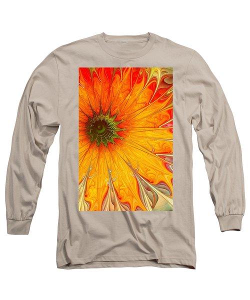 Golden Gazania Long Sleeve T-Shirt