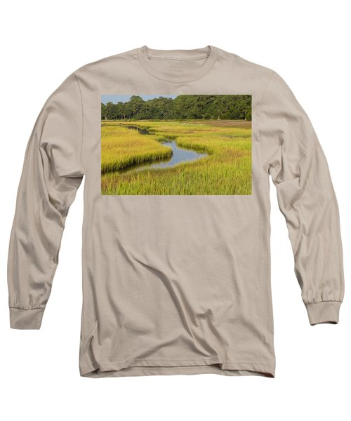Golden Marsh Long Sleeve T-Shirt