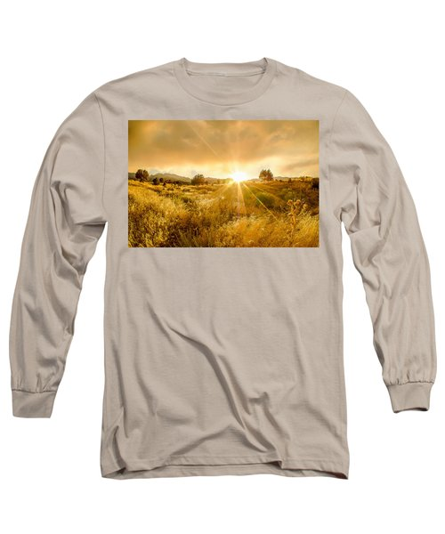 Golden Smoke Long Sleeve T-Shirt