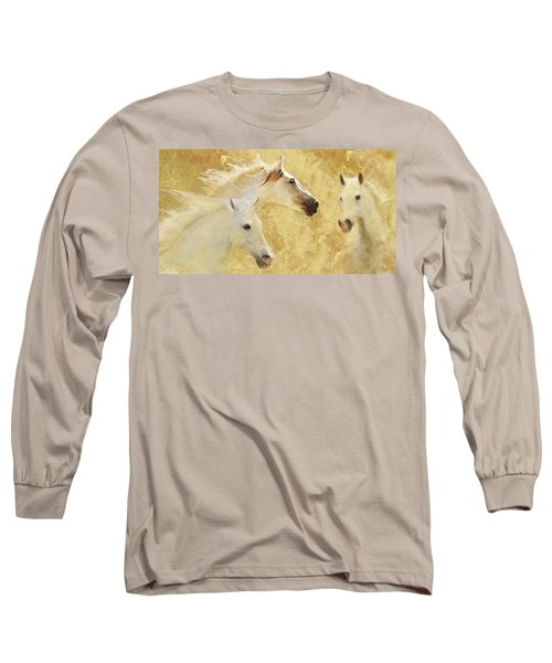 Golden Steeds Long Sleeve T-Shirt