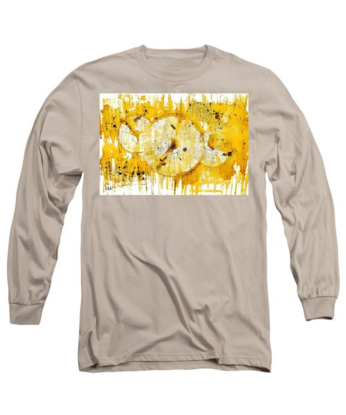 Long Sleeve T-Shirt featuring the painting Golden Sun Rise - 1290.121912 by Kris Haas