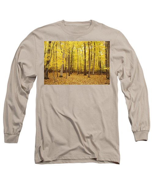 Golden Woods Long Sleeve T-Shirt
