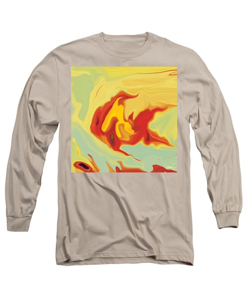 Goldfish 2 Long Sleeve T-Shirt by Rabi Khan
