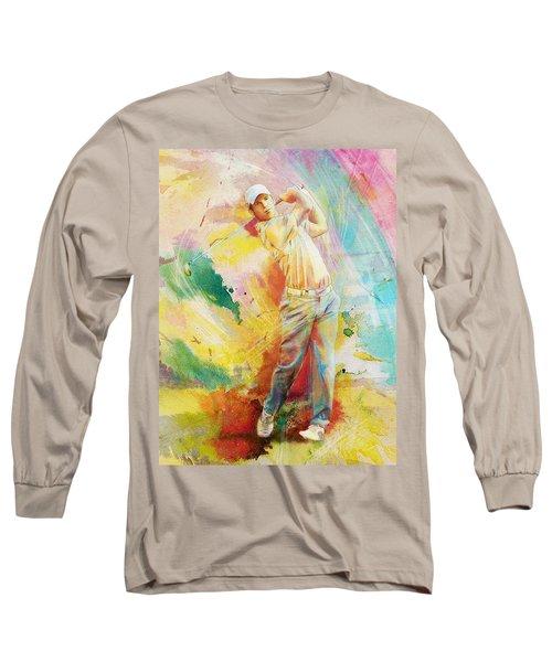 Golf Action 01 Long Sleeve T-Shirt