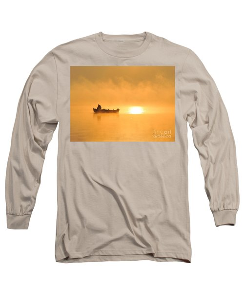 Long Sleeve T-Shirt featuring the photograph Gone Fishing by Terri Gostola