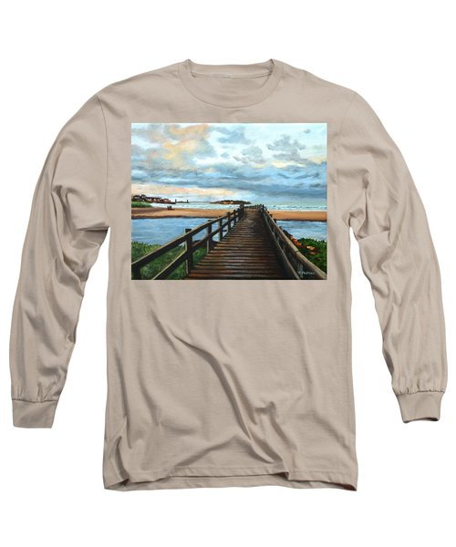 Good Harbor Beach Gloucester Long Sleeve T-Shirt