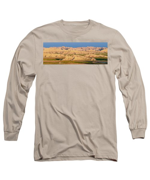 Good Morning Badlands I Long Sleeve T-Shirt by Patti Deters