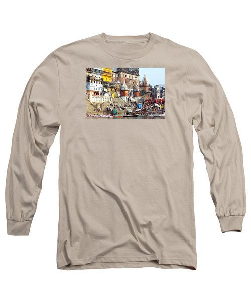Good Morning Ganga Ji 2 Long Sleeve T-Shirt