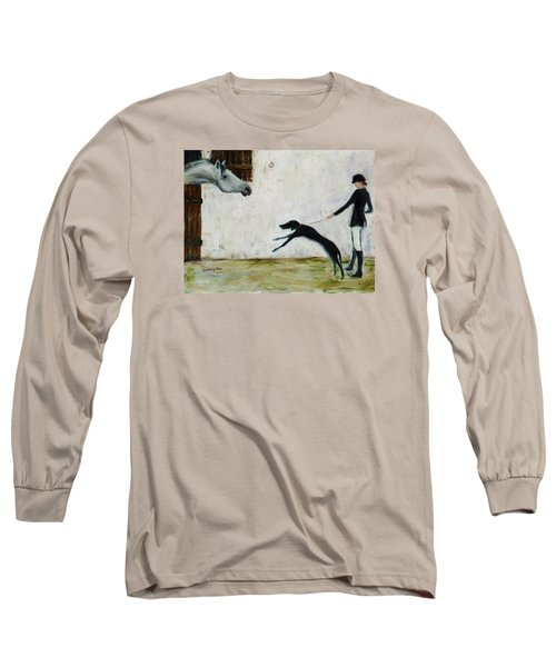 Good To See You Again Long Sleeve T-Shirt by Xueling Zou