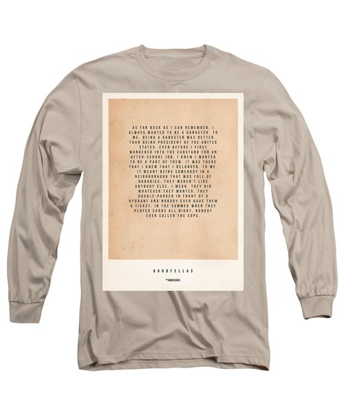 Goodfellas Long Sleeve T-Shirt