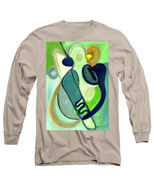 Gorgeous In Green Long Sleeve T-Shirt