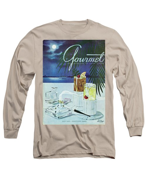 Gourmet Cover Of Cocktails Long Sleeve T-Shirt