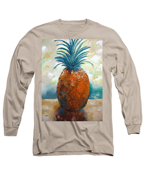 Long Sleeve T-Shirt featuring the painting Graciousness by Gary Smith