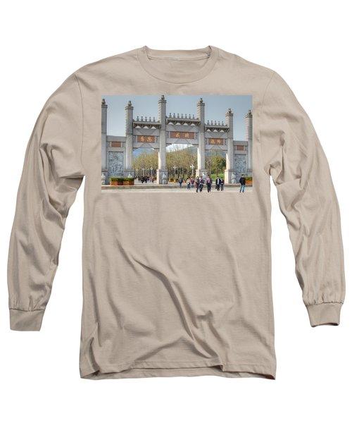 Grand Buddha Gates Long Sleeve T-Shirt