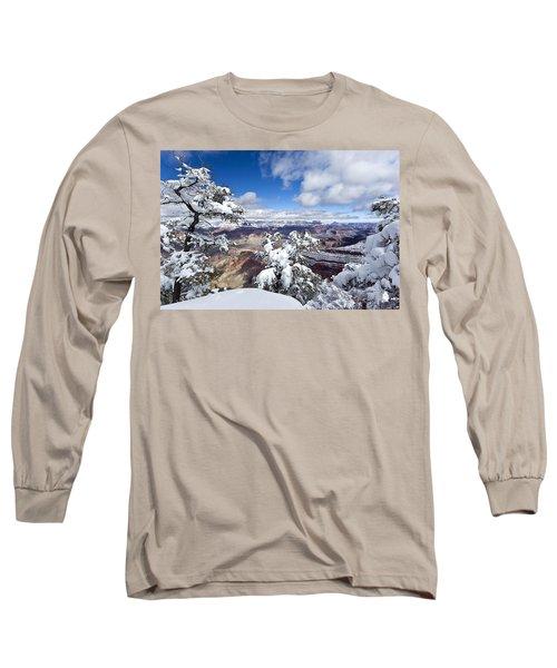 Grand Canyon Winter - 1 Long Sleeve T-Shirt