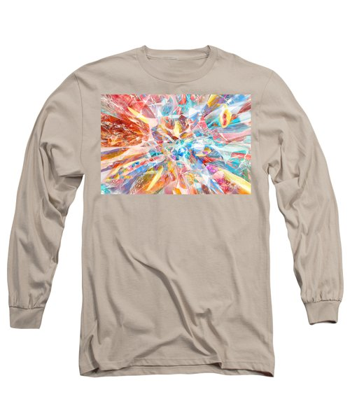 Grand Entrance Long Sleeve T-Shirt by Margie Chapman
