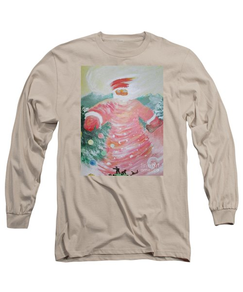 Grandfather Frost Long Sleeve T-Shirt