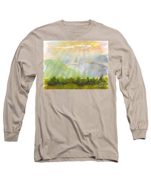 Grandma Cohen Rays Long Sleeve T-Shirt
