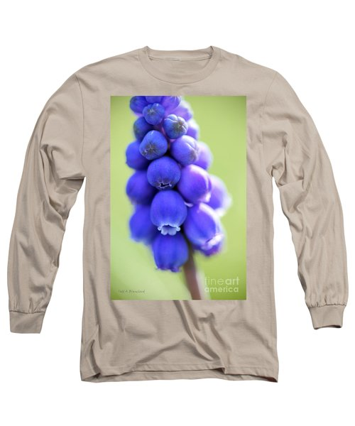 Grape Hyacinth Long Sleeve T-Shirt