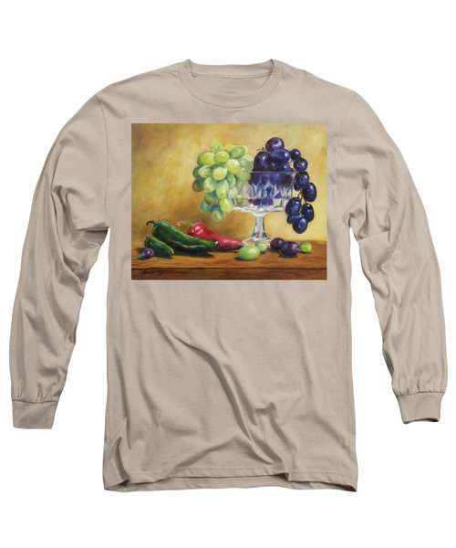 Grapes And Jalapenos Long Sleeve T-Shirt