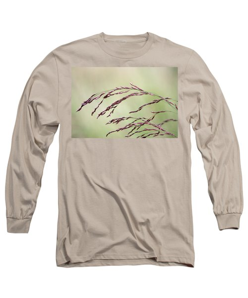 Grass Seed Long Sleeve T-Shirt by Leeon Pezok