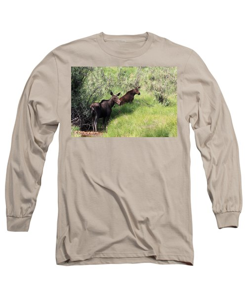 Grazing Along Long Sleeve T-Shirt