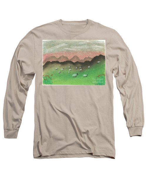 Grazing In The Hills Long Sleeve T-Shirt