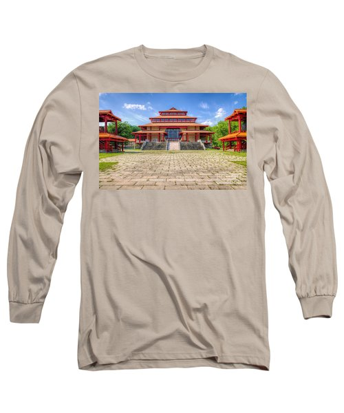 Great Buddha Hall Long Sleeve T-Shirt