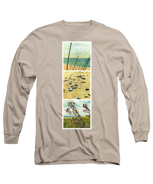 Great Lakes Triptych 2 Long Sleeve T-Shirt