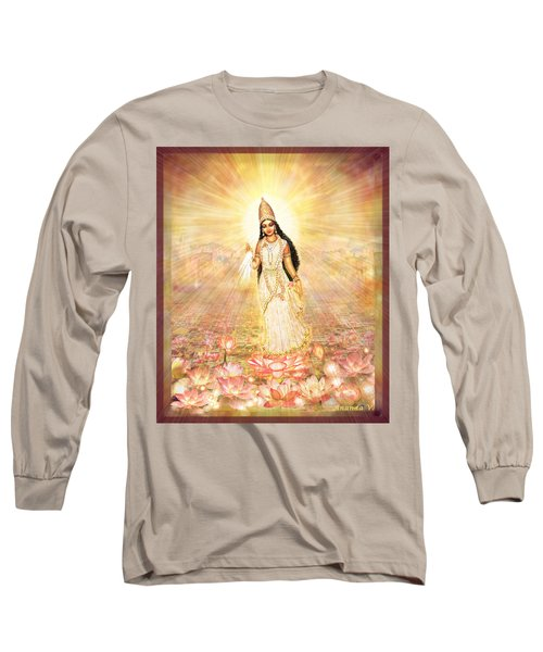 Great Mother Goddess In A Higher Dimension Long Sleeve T-Shirt
