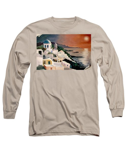 Greek Isles Long Sleeve T-Shirt