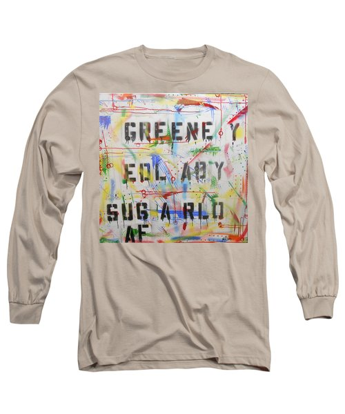 Green Eyed Lady Long Sleeve T-Shirt