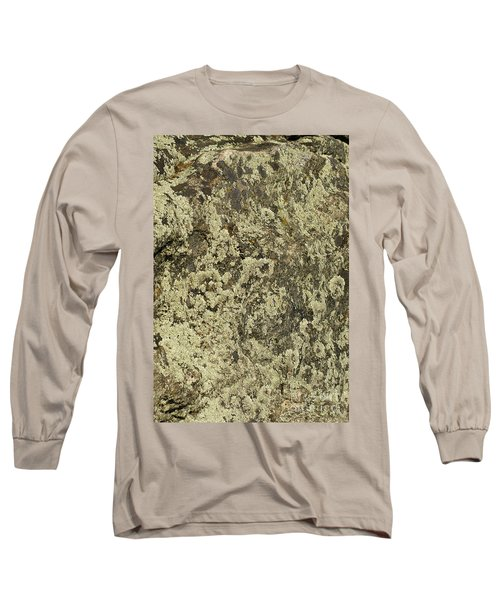 Long Sleeve T-Shirt featuring the photograph Green Moss by Les Palenik