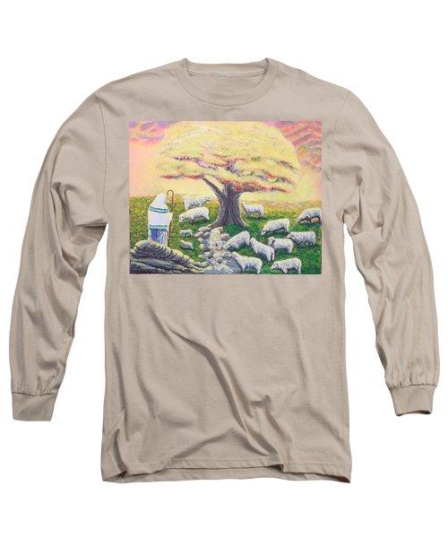 Green Pasture  Long Sleeve T-Shirt