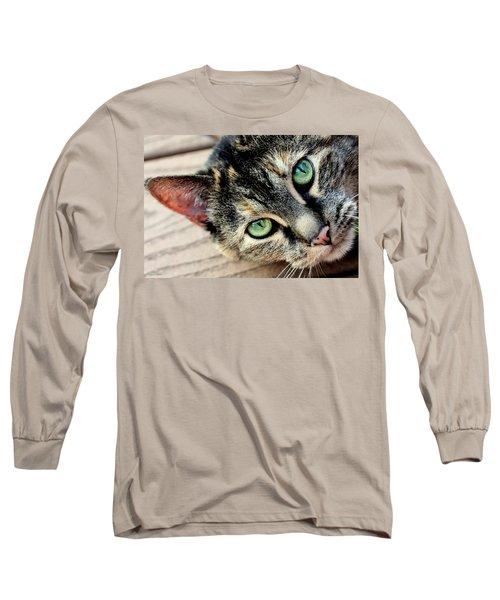 Green Pepper Long Sleeve T-Shirt