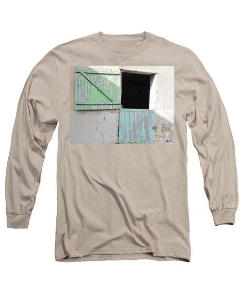 Green Stable Door Long Sleeve T-Shirt