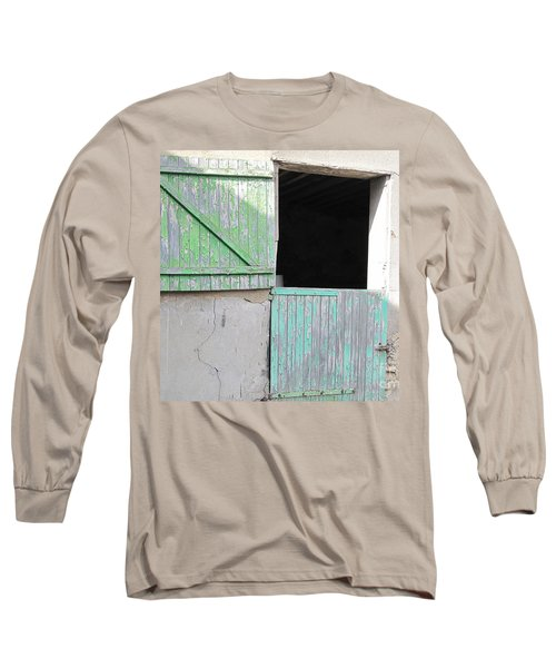 Green Stable Door Long Sleeve T-Shirt