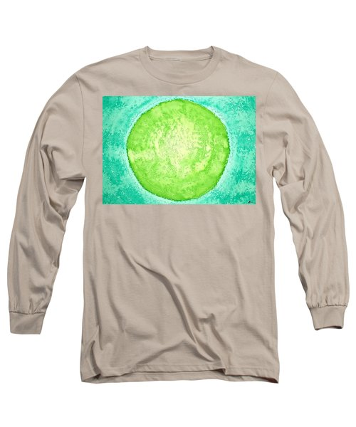 Green World Original Painting Long Sleeve T-Shirt