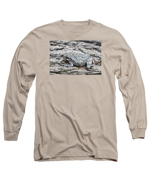 Long Sleeve T-Shirt featuring the photograph Cope's Gray Tree Frog by Judy Whitton