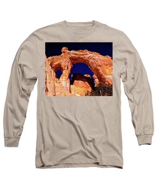 Grosvenor Arch Sunset Kodachrome Basin Long Sleeve T-Shirt