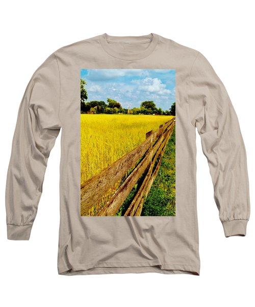 Growing History Long Sleeve T-Shirt by Daniel Thompson