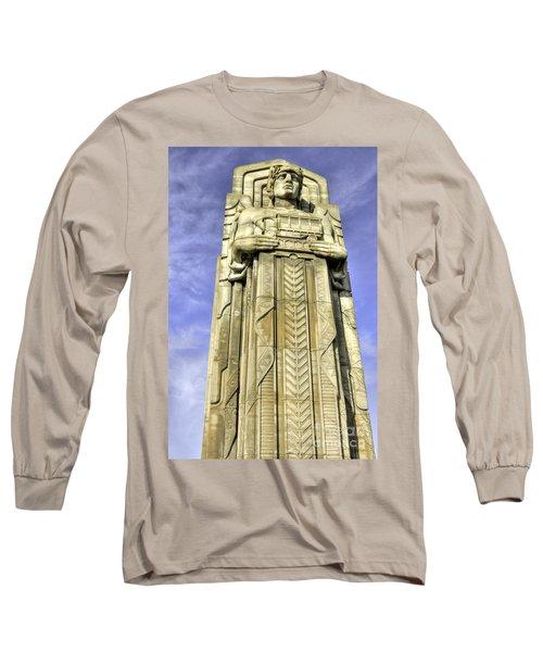 Guardian Of Traffic - 5 Long Sleeve T-Shirt by David Bearden