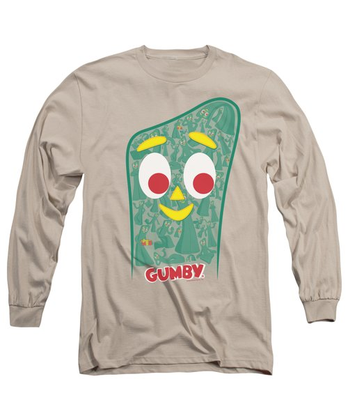 Gumby - Inside Gumby Long Sleeve T-Shirt