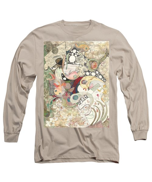 Guppies Galore Long Sleeve T-Shirt by Melinda Dare Benfield