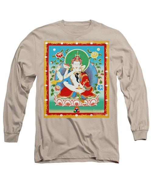 Guru Rinpoche Yab Yum Long Sleeve T-Shirt